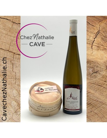 vacherin mont d'or + Alsace riesling