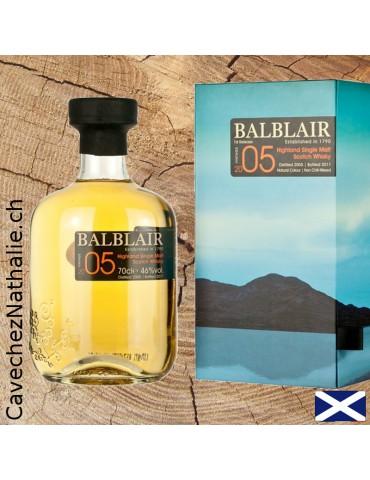 Whisky Balblair 2005 | Single Malt | Coffret