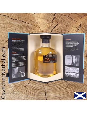 Whisky Balblair 2005 | Single Malt | ouvert