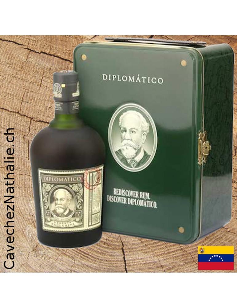 rhum diplomatico boite métal
