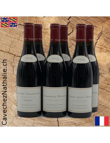 6 bouteilles Bourgogne