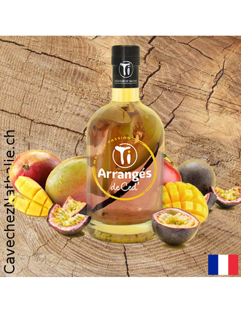 Rhum arrangé Mangue Passion | Rhums de Ced
