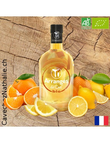 rhum de ced orange citron bio