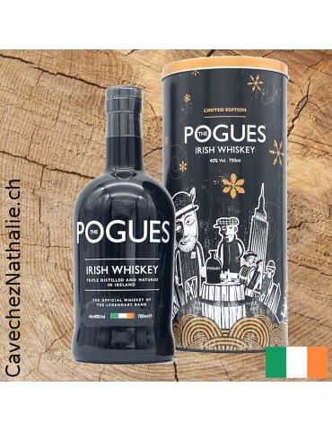 whisky Pogues etui