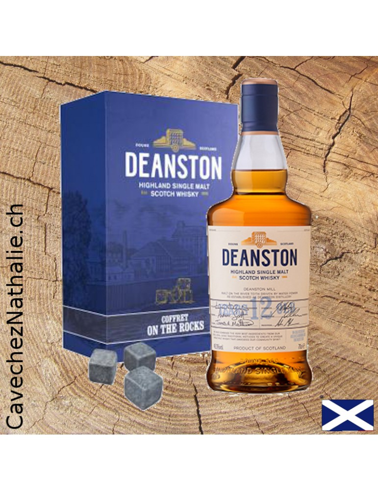 whisky deanston coffret