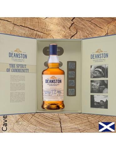 whisky deanston coffret ouvert