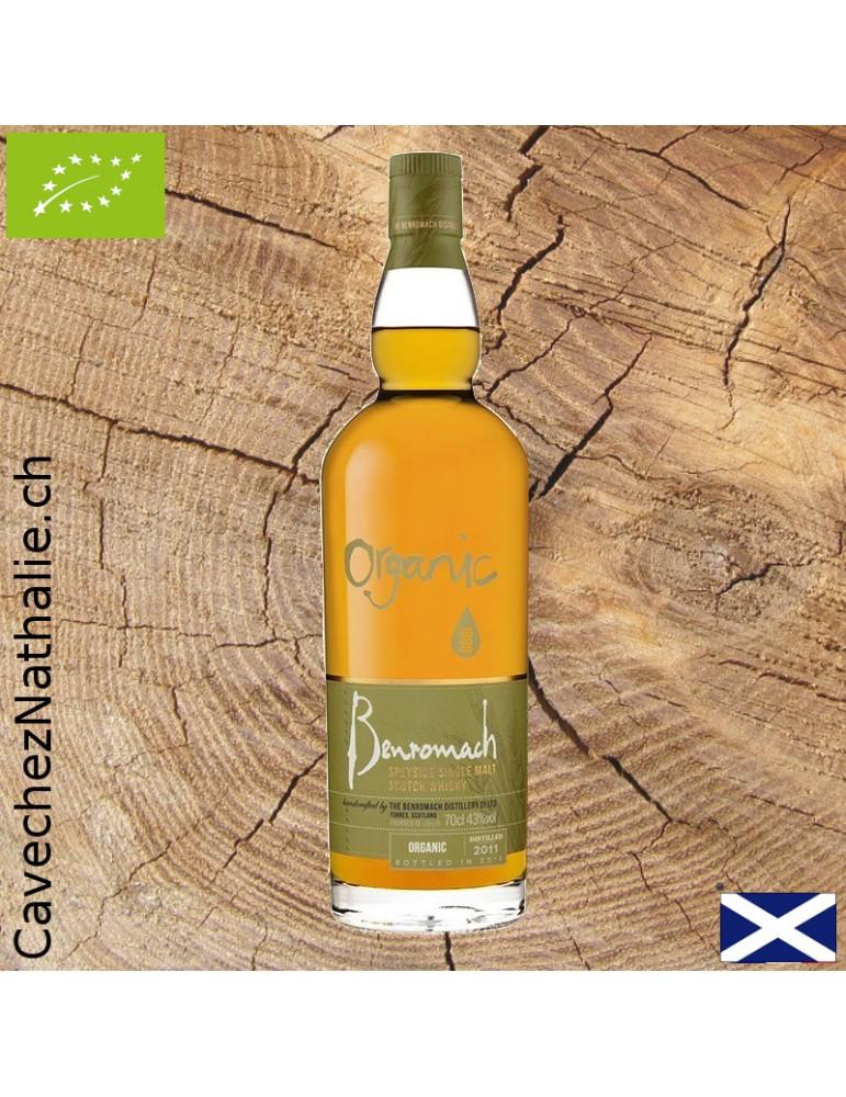 whisky Benromach bio