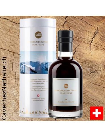 vinaigre poire Swiss mountain etui