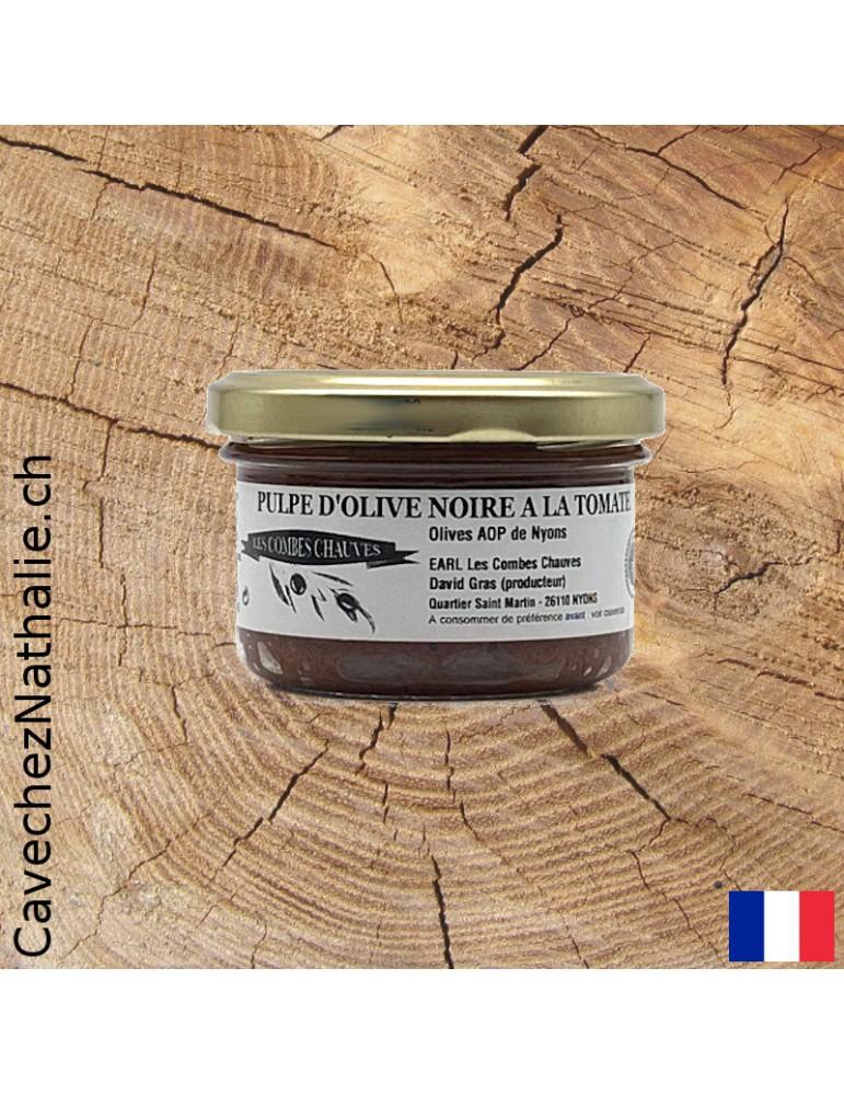 pulpe d'olive noire