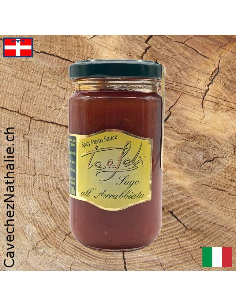 sauce tomate épicée tealdi